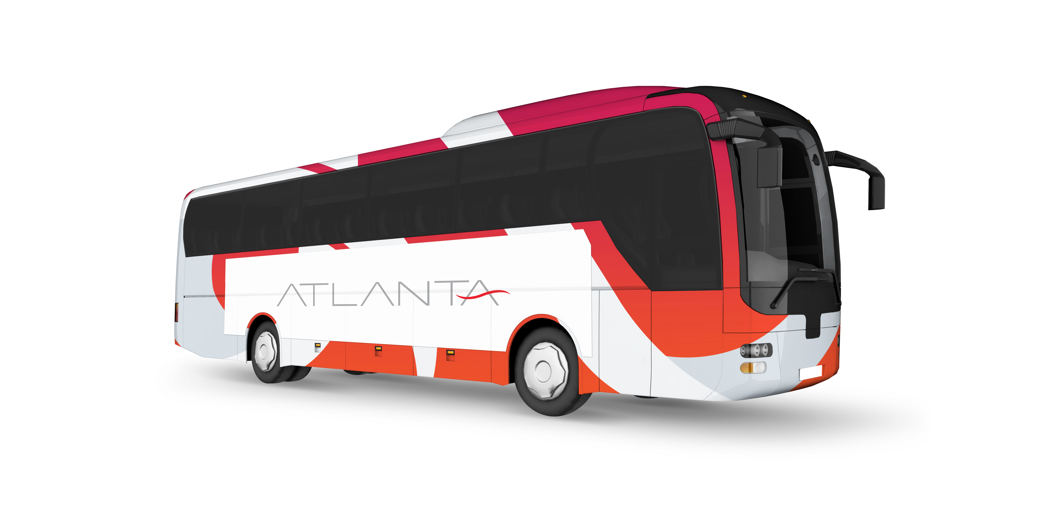 ATLANTA tourbus MOCKUP